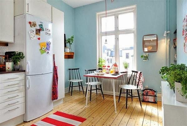 Bộ sưu tập những mẫu bếp ăn đẹp của vùng Scandinavian